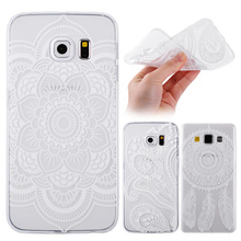 A5 2016 Case Soft TPU Samsung Galaxy A510 Phone Cases Vintage Flower Clear Back Cover A3 A7 J5 J7 - REDSTORE INT'L TRADING CO LTD store