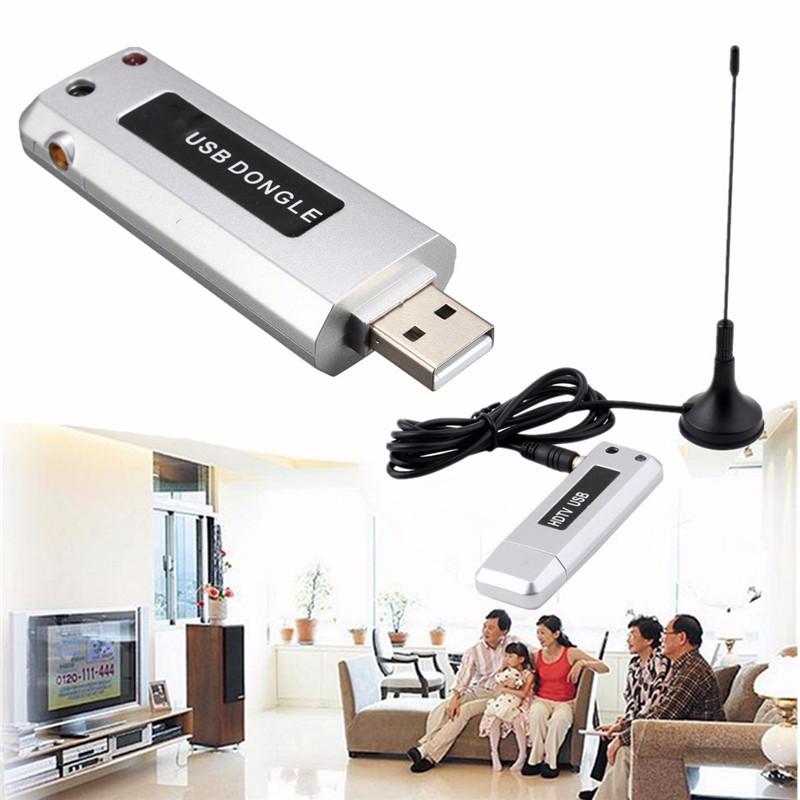 USB 2.0 Digital HDTV TV Tuner Recorder Receiver Stick Antenna for Windows 7(China (Mainland))