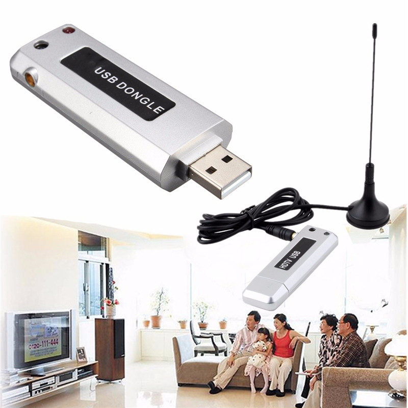 USB 2.0 Digital HDTV TV Tuner Recorder Receiver Stick Antenna for Windows 7(China (Mainland))