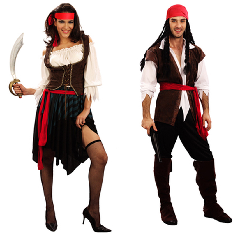 Adult costume jack sparrow