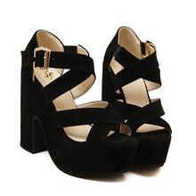 Free Shipping Women Sandals Open Toe Summer Style Ladies Shoes Women Platform Sandals Thick Heel Sandals Women Shoes #ssw668-9