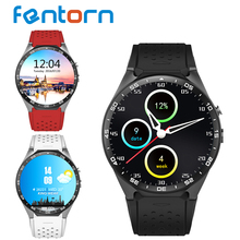 Buy 2017 Hot kingwear Kw88 android 5.1 OS Smart watch 1.39 inch 400*400 SmartWatch phone support 3G wifi nano SIM WCDMA Heart Rate for $96.71 in AliExpress store