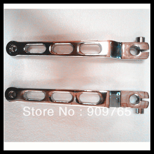 Free Shipping Chrome Aluminum Heel Toe Gear Shift Lever for harley 1986-2012 2011  Softail FLST FLT FLHT<br><br>Aliexpress