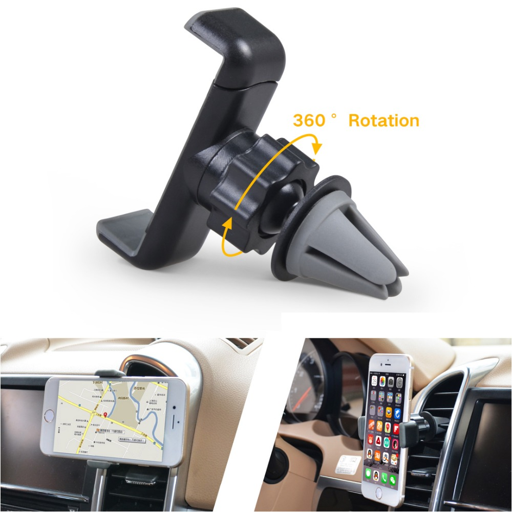 Cobao universal mobile phone holder stand air vent car mount holder bracket for Iphone 4s 5 5s 6 6s plus Galaxy S4 S5 S6 S7(China (Mainland))