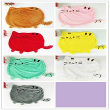 2016 new 7 colors 40*30cm plush toy stuffed animal doll, anime toy pusheen cat pusheen skin girl kid kawaiiPillow cushions(China (Mainland))