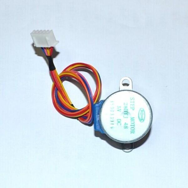 5V 4-phase 5-wire stepper motor gear motor 28BYJ-48-5V,Micro Mini Electric Step Motor for PIC 51 AVR(China (Mainland))