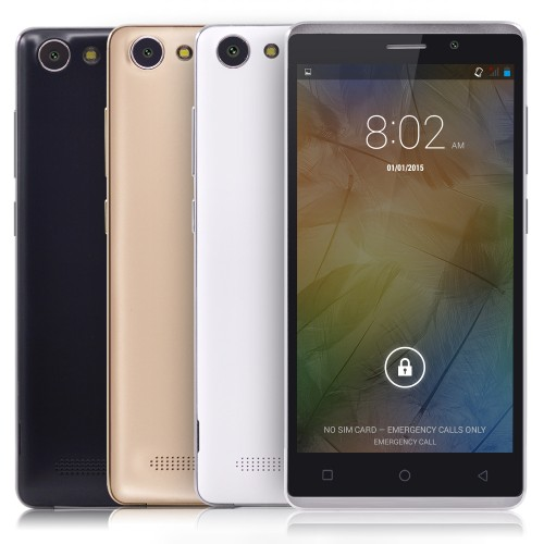5Inches Android 4 4 MTK6572 Dual Core Smartphone RAM 512MB ROM 4GB Unlocked 3G WCDMA 5