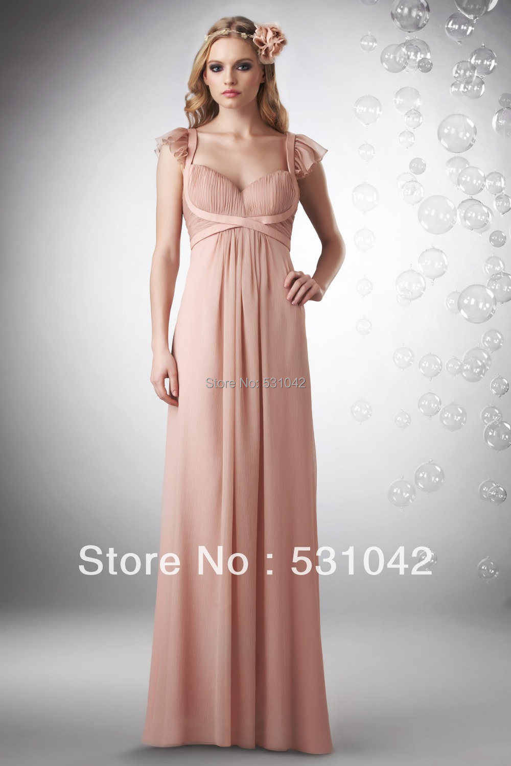 Chiffon Full Length Long
