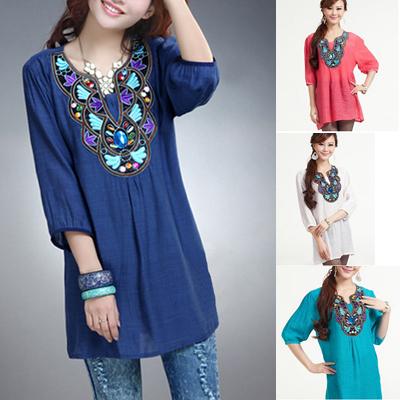 Женские блузки и Рубашки Goldenlifewholesale l/xxxl 2015 Blusa GLW-CS-1006 женское платье goldenlifewholesale 2015 glw lq 1013