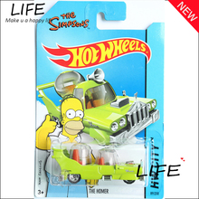 Free Shipping Hot Wheels Simpsons The Homer Green Cars Metal Alloy Model For Colecter  Wholesale Metal Cars For Car Lovers(China (Mainland))