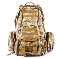 Outdoor Backpack Military Camouflage Tactical Airsoft Sports Hunting Pack Climbing Camping Hiking Wild Survival Bags 45L