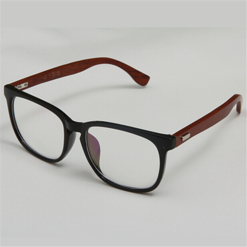 Men s European Eyeglass Frames : European Handmade Full Rim Wooden Glasses Frame Womens And ...