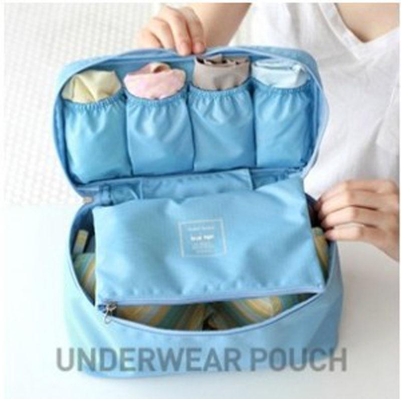Women Waterproof Travel Multifunction Underwear Storage Bag Bra Finishing Package Panties Travel Portable Storage Box & Bra Bag(China (Mainland))