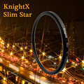 KnightX Star Filter 52MM 58MM 67MM 4 6 8 Point Line for Canon Nikon d3200 d5200