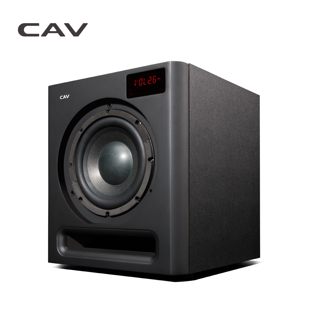 CAV SW580 2.4G Wireless Bluetooth Subwoofer 8-Inch Powered Subwoofer Speaker 3D Surround Sound Optical Coaxial AUX Column(China (Mainland))