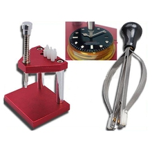 Hot Sale Watch Hand Presto Press Presser Watchmakers Fitting Repair Tool Kit Free Shipping(China (Mainland))