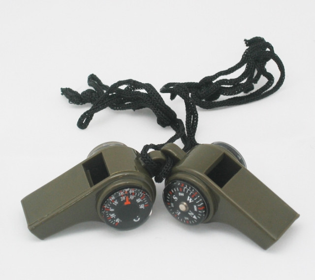 Свисток New 50 DHL 3 1 whistle+ thermometer +compass