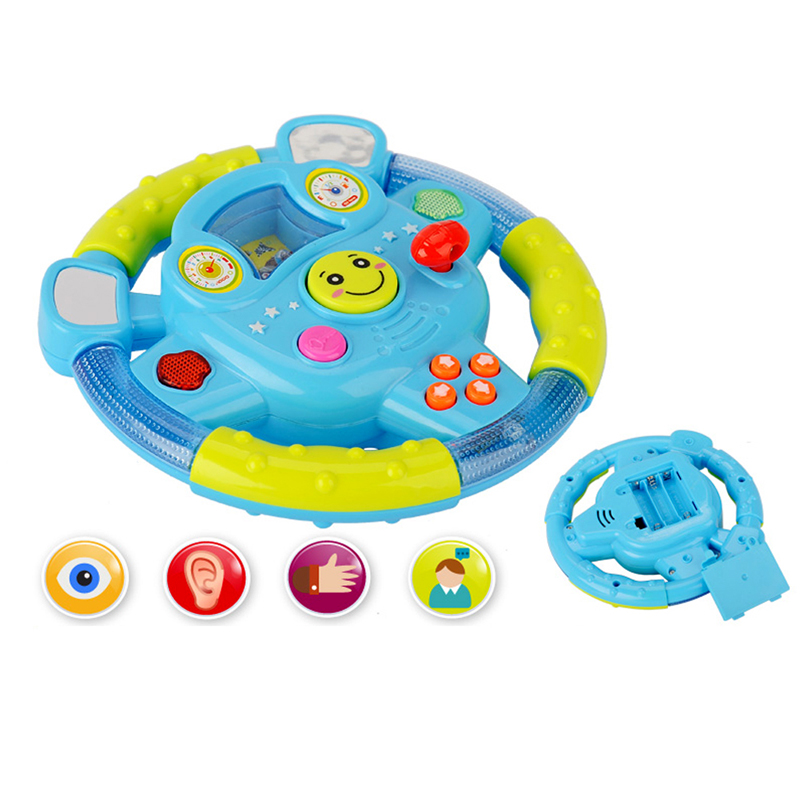 Toy Car Steering Wheel,Shifter and Drive Track+Sound Kids Educational Toy FCI#<br><br>Aliexpress