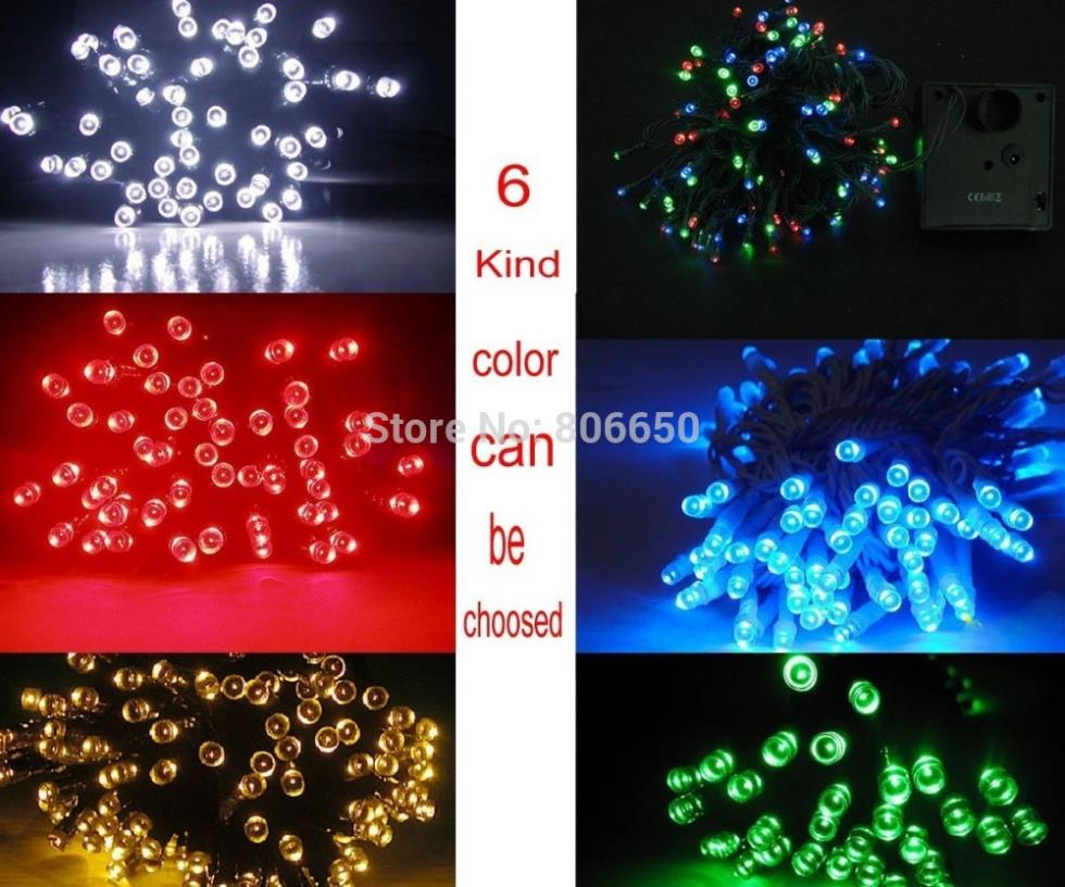 USA Stock no tax free quick shipping 12m LED Solar light Fairy Light home garden weddings events(China (Mainland))