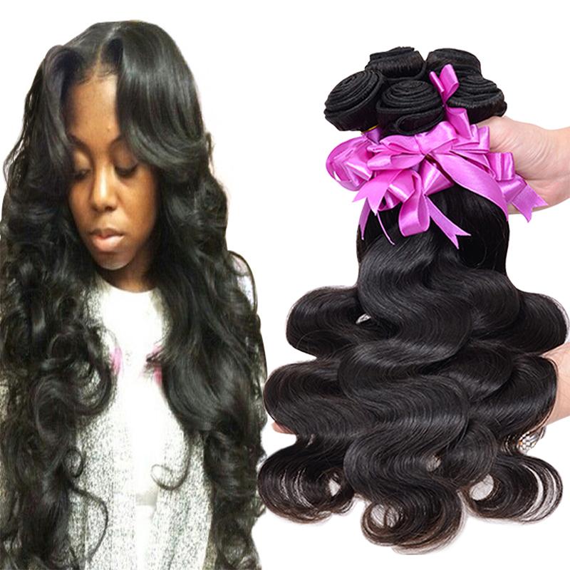 Rosa Hair Products Malaysian Body Wave 3pcs 6A Unprocessed Malaysian Virgin Hair Human Hair Weave Soft Malaysian Hair Extension(China (Mainland))