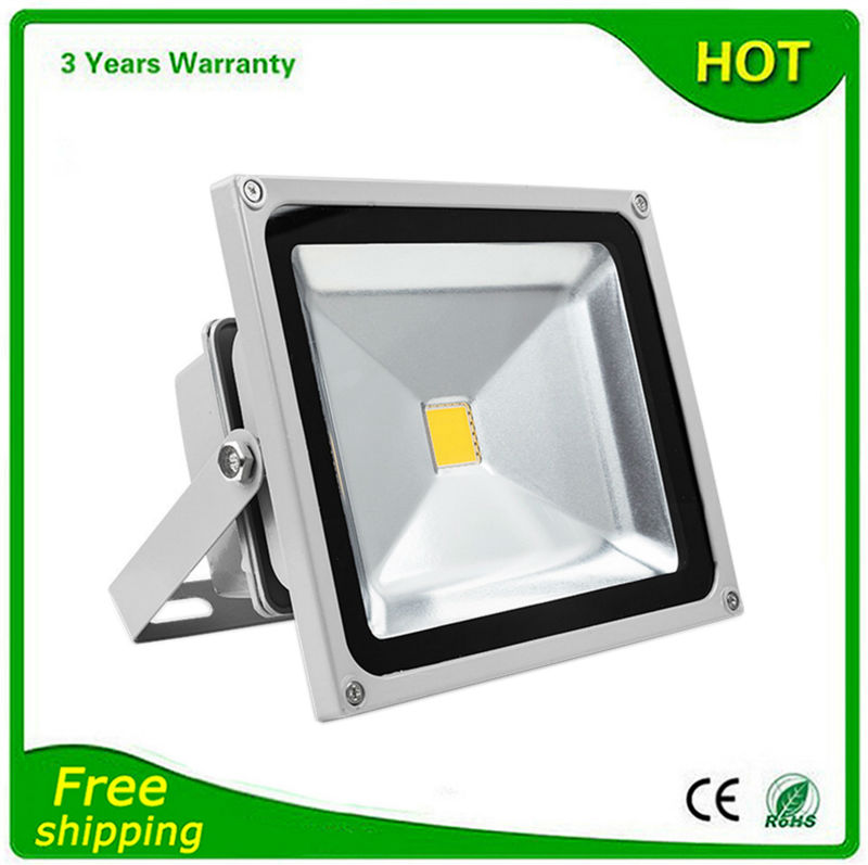 10W 20W 30W 50W LED Flood Light Floodlight Outdoor 6PCS/Lot IP65 Waterproof AC85-265V Bridgelux Chip CE RoHS Free Shipping<br><br>Aliexpress