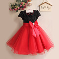 2017 new lovely girls dresses spring and summer baby girls costume dress lace princess tuxedo  dress kids clothing ball gown