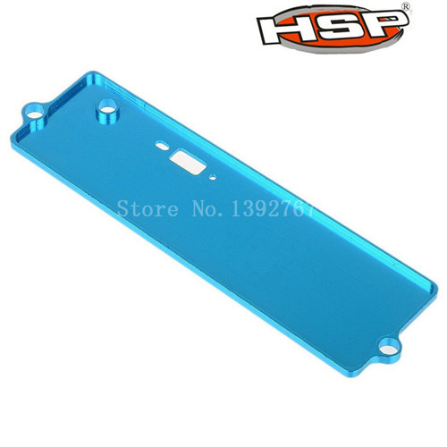 HSP Upgrade Parts122064 02111 102064 Alloy Aluminum Battery Case Top Cover 1/10th 4WD RC Car XSTR Power Himoto Red Cat(China (Mainland))