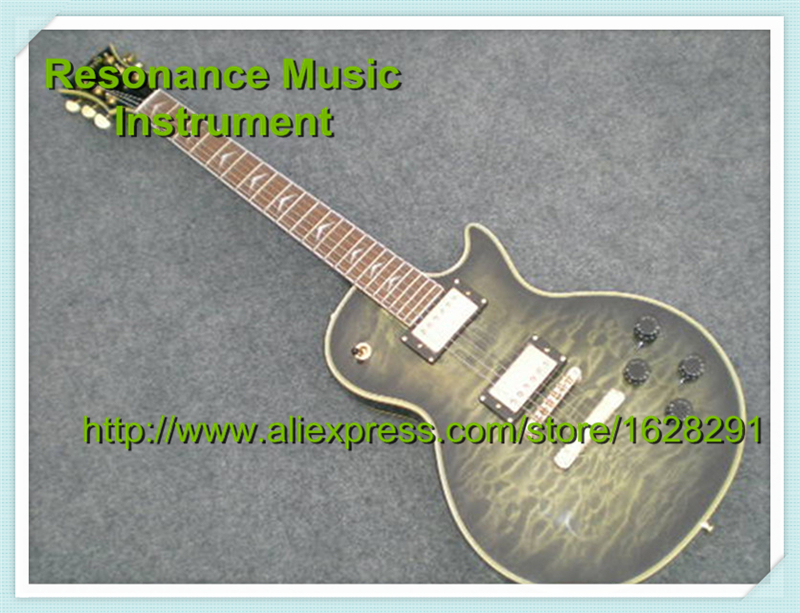 New Arrival Vintage Grey Electric Guitar LP Custom Guitar & Kit Available(China (Mainland))