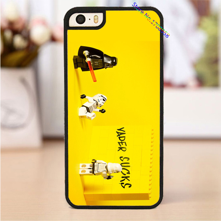 Lego Star Wars fashion phone cover case for iphone 4 4s 5 5s 5c SE 6 6s & 6 plus 6s plus &TO1937(China (Mainland))
