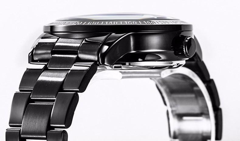 Эксклюзивная Модная Механическая Скелет Мужчины Водонепроницаемый Мужчины Смотреть Марка Нержавеющая Сталь Ремешок Повседневная Наручные Часы Relogio Мужской E