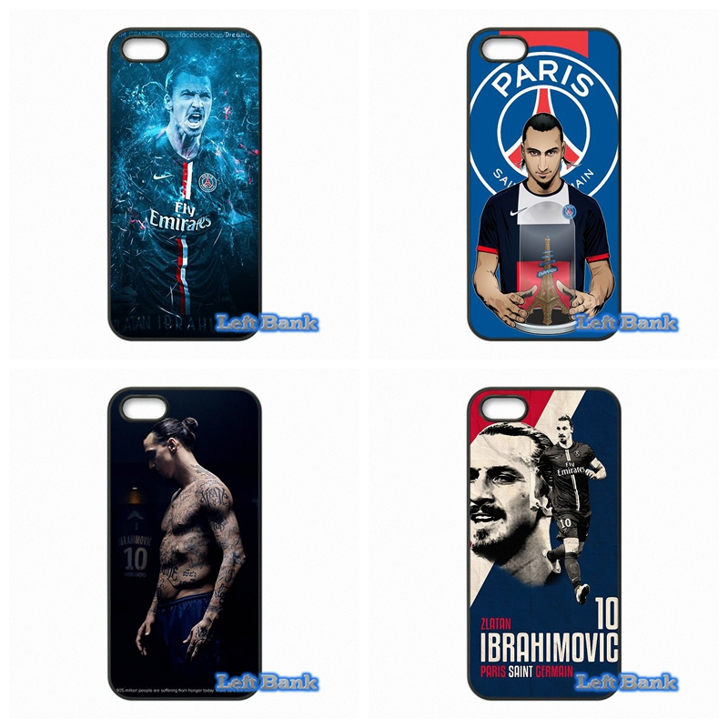 zlatan ibrahimovic PSG Hard Phone Case Cover For Apple iPod Touch 4 5 6 For iPhone 4 4S 5 5S 5C SE 6 6S Plus 4.7 5.5(China (Mainland))
