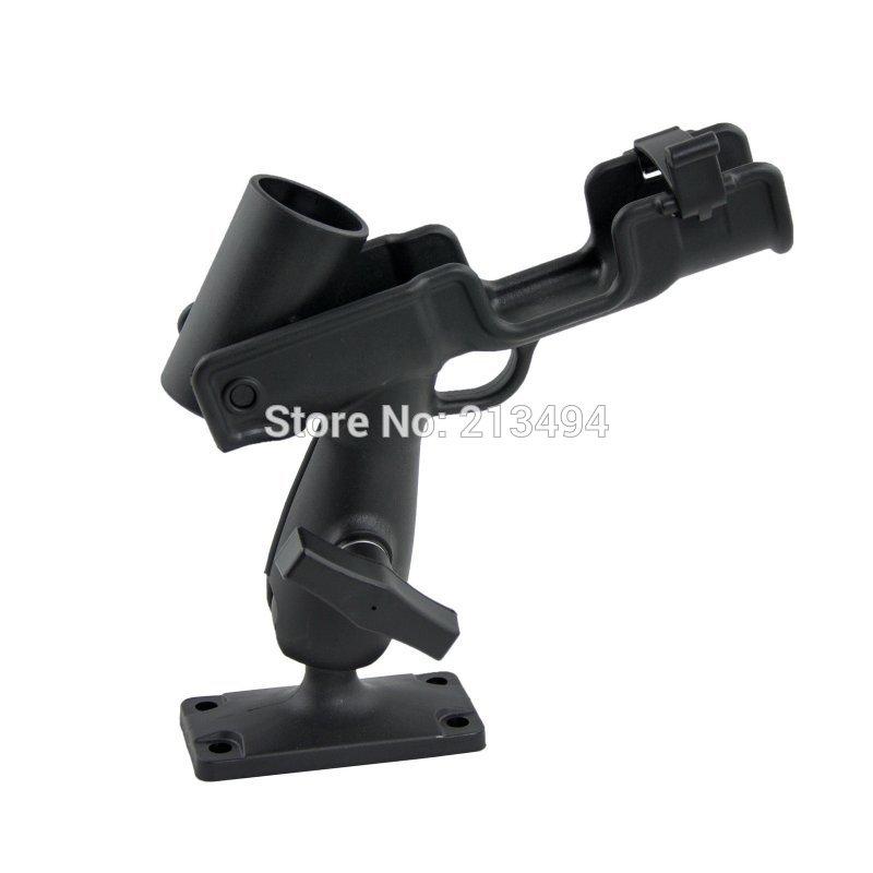 Universal Adjustable Rod Holder For For Kayak Boat Canoe Fishing w/Screws(China (Mainland))