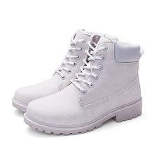 Sıcak yarım çizmeler Kadın Botları Için Kamuflaj Martin Çizmeler Kadın Ayakkabı Peluş Sıcak Kadınlar Kış Çizmeler Kadın Patik Artı Boyutu 42(China)
