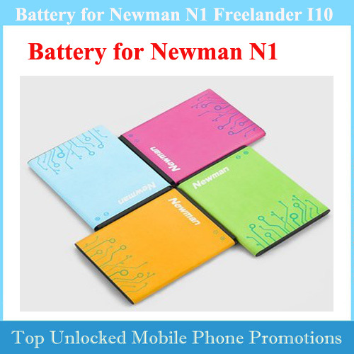 Original 1700mAh Larger Capacity Battery Accumulator BL-96 for Newman N1 NM860 NM850 Phone Free Ship Fast + Track Number(China (Mainland))