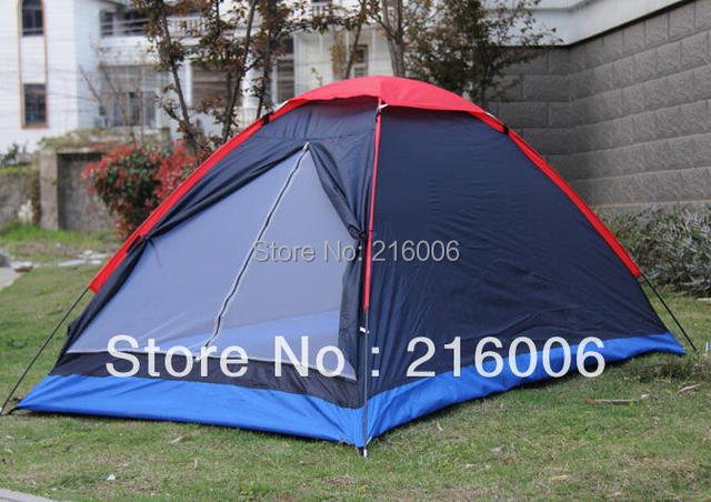 Outdoor camping tent 2 person lovers casual tourism tents double single tier tent Camouflage