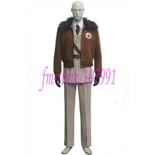 APH America Cosplay Costume from Axis Powers Hetalia - Free shipping(China (Mainland))