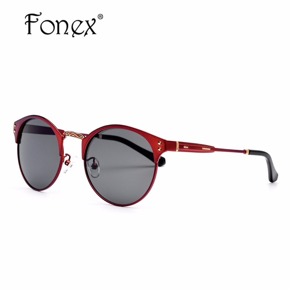 2017 New Fashion Round Polarized Sun Glasses for Men Women Brand Designer Sunglasses Points Alloy Vintage BL Cheap China Shades(China (Mainland))