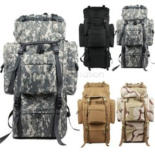 2015 Mens extérieure alpinisme sacs à dos hommes grande 80L support militaire voyage Camping sacs à dos randonnée sac à dos us51(China (Mainland))