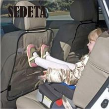 Car Auto Seat Back Protector Cover Backseat for Children Babies Kick Mat Protects from Mud Dirt Quality(China (Mainland))
