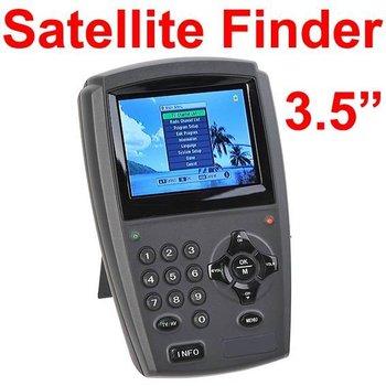 """Promotion low price  Satellite Finder 3.5"""" TFT Color LCD Handheld Digital Satellite Finder Signal Meter TV DVB-S"""