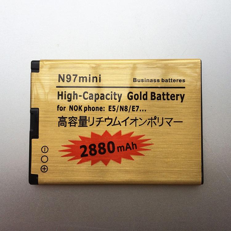 BL 4D BL-4D battery N97 MINI Gold 2680mAh High capacity Replacement battery For NOKIA N97 MINI E5 E7 N8 702T T7 Batterie