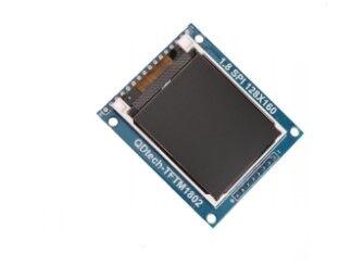 """5pcs 1.8"""" 28*160 Serial SPI TFT LCD Module Display + PCB Adapter Power IC SD Socket 128X160(China (Mainland))"""
