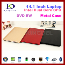 OEM 14.1 inch laptop Intel Atom N2600 Dual Core, 4GB RAM 500G HDD, Webcam, DVD-RW,1080P HDMI, Bluetooth,WIFI,Win 7