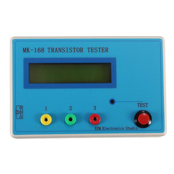 Transistor Tester Automatic recognition Diode Triode Capacitance Resistance Inductance Meter MOS PNP NPN BG44