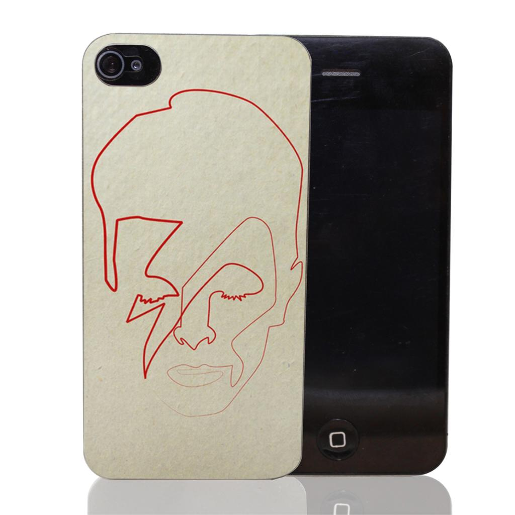 399-IOP One line David Bowie Style Transparent Hard Back Cover for iPhone 6 6s plus 5 5s 5c 4 4s Phone Cases(China (Mainland))