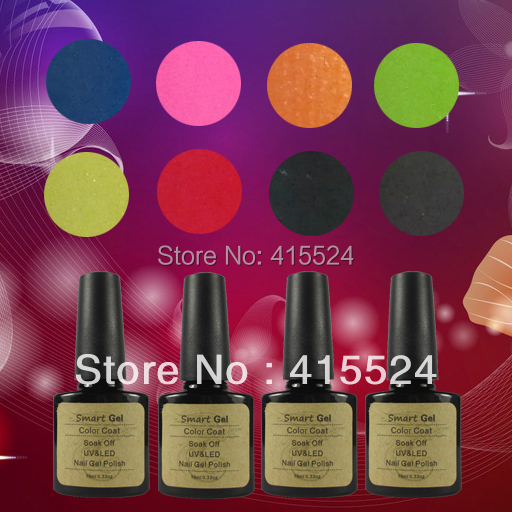 Free Shipping 11Pcs/lot 2014 New High Quality Soak Off UV Gel Polish Long-lasting Nail Gel China Manufacturer<br><br>Aliexpress
