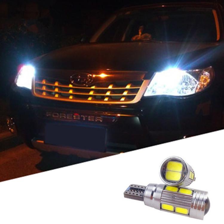 2 x t10 led w5w car led auto lamp 12v light bulbs with projector lens for subaru impreza legacy. Black Bedroom Furniture Sets. Home Design Ideas