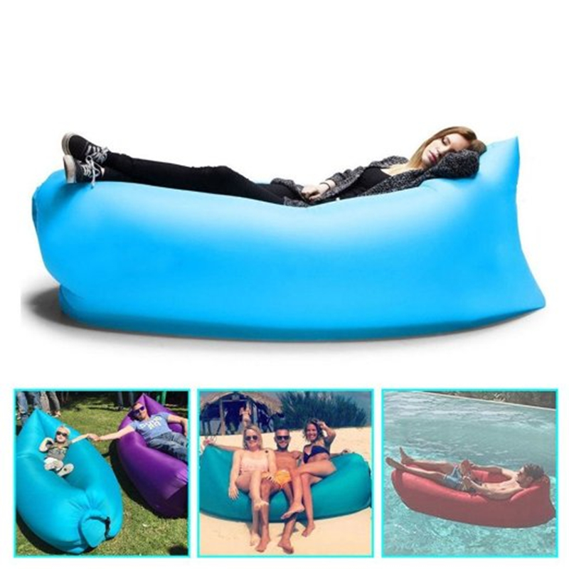 Portable Inflatable Couch,inflatable lounger,Outdoor Sofa,lazy Bags Lounger Nylon Fabric Suitable For Camping Beach Lazy Sofa(China (Mainland))