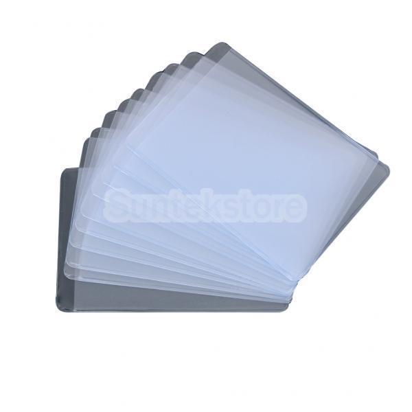 Clear Bank Card Card Soft Plastic Clear