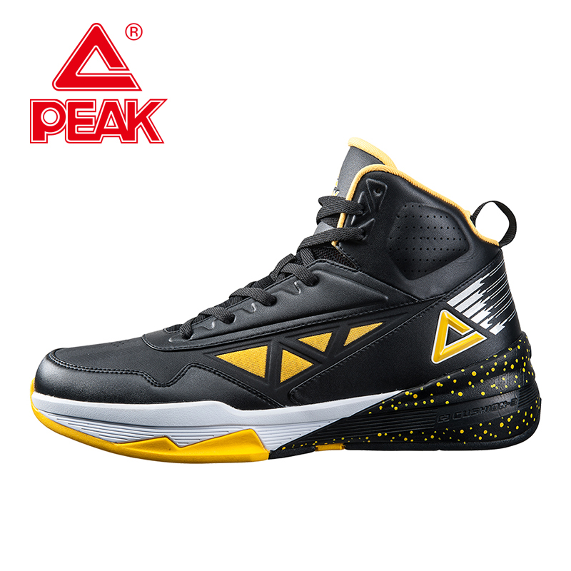 PEAK SPORT Men Basketball Shoes Authentic Breathable Outdoor Sneakers FOOTHOLD Cushion-3 REVOLVE Tech Athletic Training Boots(China (Mainland))